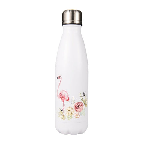 Bouteille isotherme 500 ml flamant flower