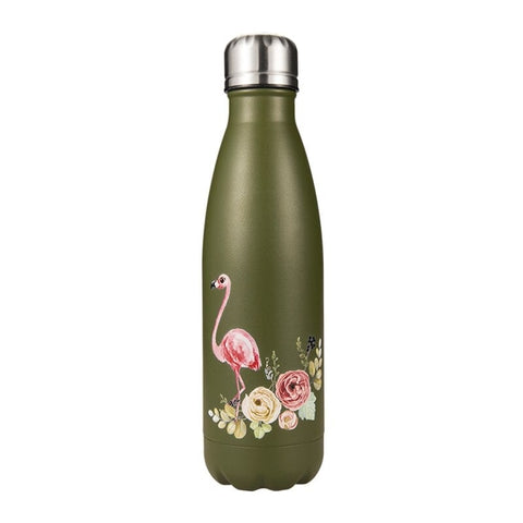Bouteille isotherme 500 ml gold flamingo