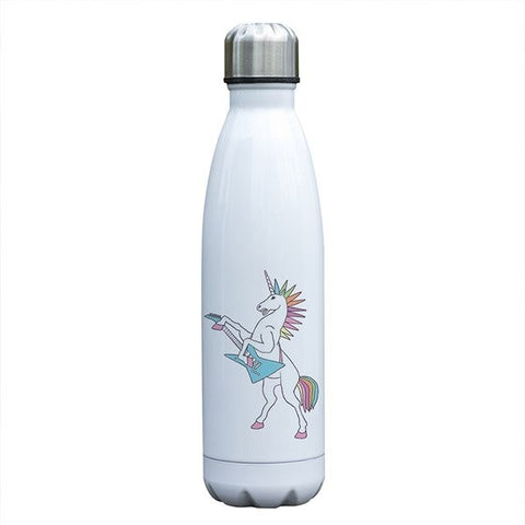 bouteille isotherme licorne guitare rock