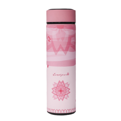 Bouteille isotherme 450 ml rose limerence