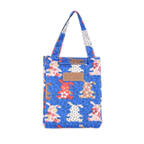 Sac isotherme à lunch box bleu motif lapin