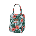Lunch bag isotherme motif fleur tropicale