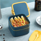 lunch box isotherme carre avec poulet