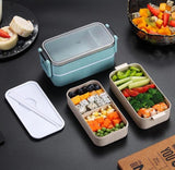Lunch box compartimentee repas sain
