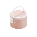 lunch box bento isotherme rond rose