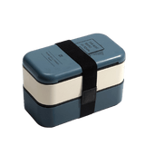 lunch box isotherme blanche bleue