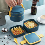 lunch box bento carre et rond