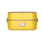 Lunch box electrique jaune un etage