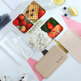 lunch box chic avec aliments