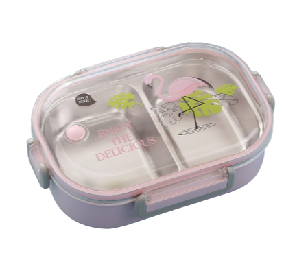 lunch box isotherme motif flamants roses