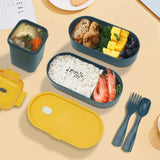 lunch box isotherme bleu repas healthy