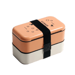 Lunch box isotherme orange blanche