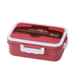 lunch box bento rouge et blanche