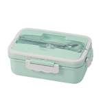 lunch box bento verte et grise
