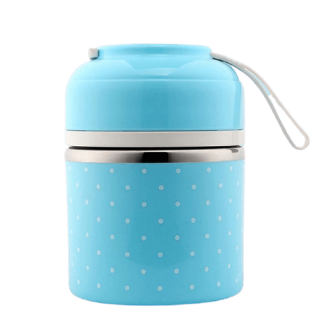 Lunch Box Étage Bleue
