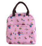 sac isotherme repas rose nounours ourson