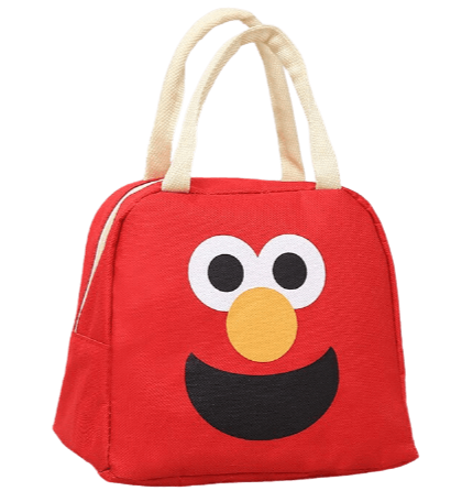 lunch bag rouge motif clown