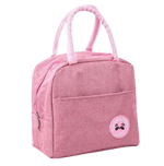 sac isotherme rose pour repas
