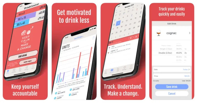 If you need help drinking less, there's an app for that