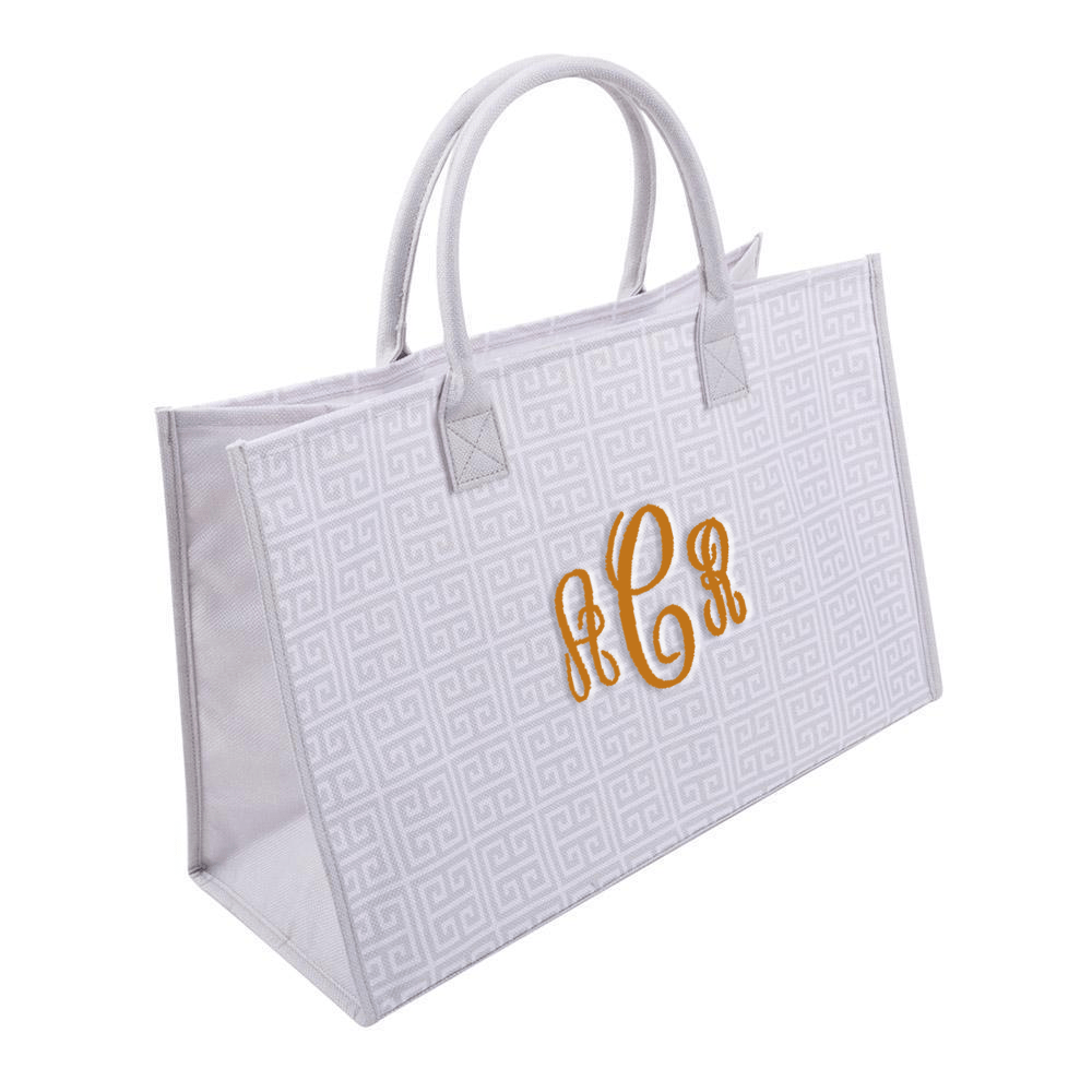 Monograms For Me Box Tote