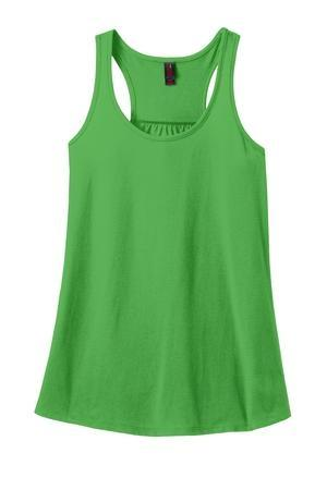 vendor-unknown Apparel Apple Monogrammed Racerback Tank