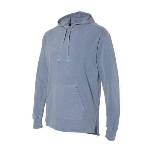 vendor-unknown Apparel Small / Blue Jean Monogrammed Hooded French Terry
