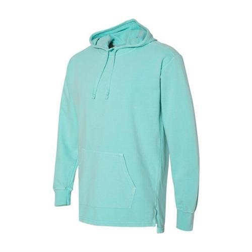 vendor-unknown Apparel Small / Chalky Mint Monogrammed Hooded French Terry