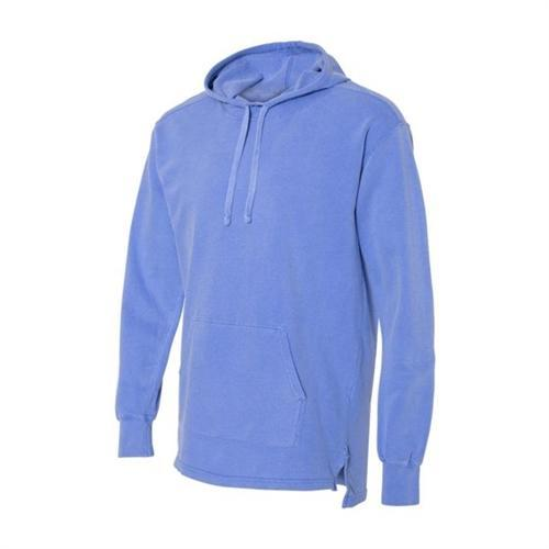 vendor-unknown Apparel Small / Flo Blue Monogrammed Hooded French Terry