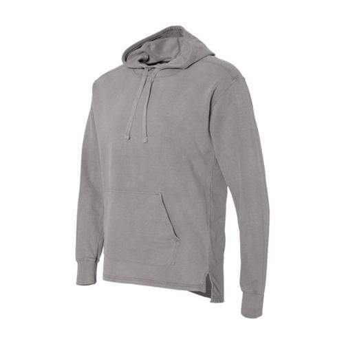 vendor-unknown Apparel Small / Gray Monogrammed Hooded French Terry