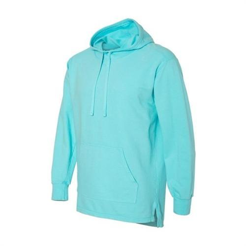 vendor-unknown Apparel Small / Lagoon Monogrammed Hooded French Terry