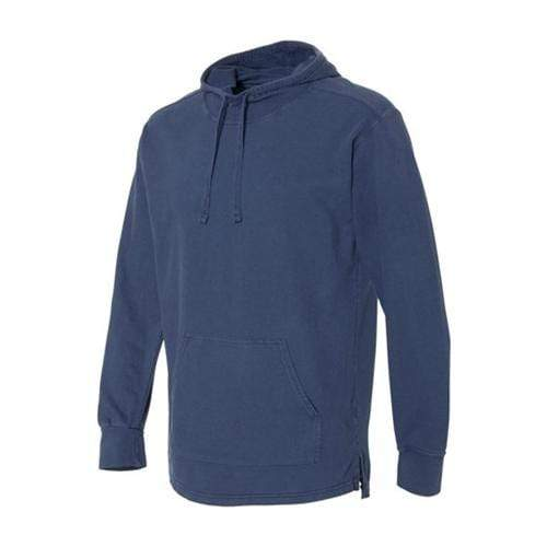 vendor-unknown Apparel Small / Navy Monogrammed Hooded French Terry