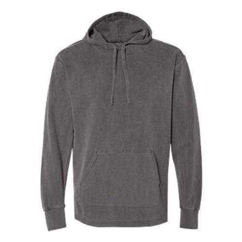 vendor-unknown Apparel Small / Pepper Monogrammed Hooded French Terry