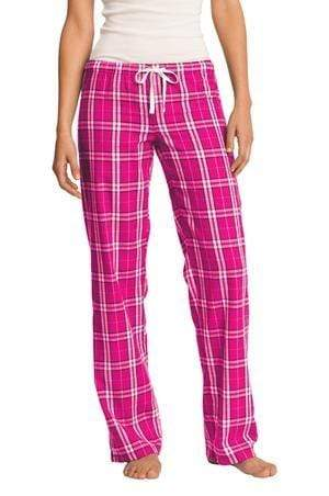 vendor-unknown College Bound Fuschia / XSmall Monogrammed Flannel PJ Pant