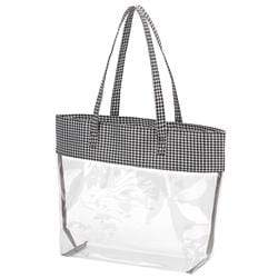 vendor-unknown College Bound Houndstooth Monogrammed Tailgate Tote