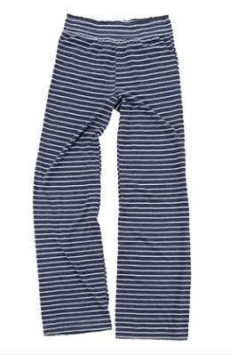 vendor-unknown College Bound Navy / Left Hip Design Monogrammed Margo Lounge Pants