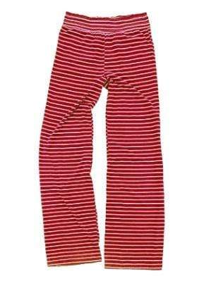 vendor-unknown College Bound Red / Left Hip Design Monogrammed Margo Lounge Pants