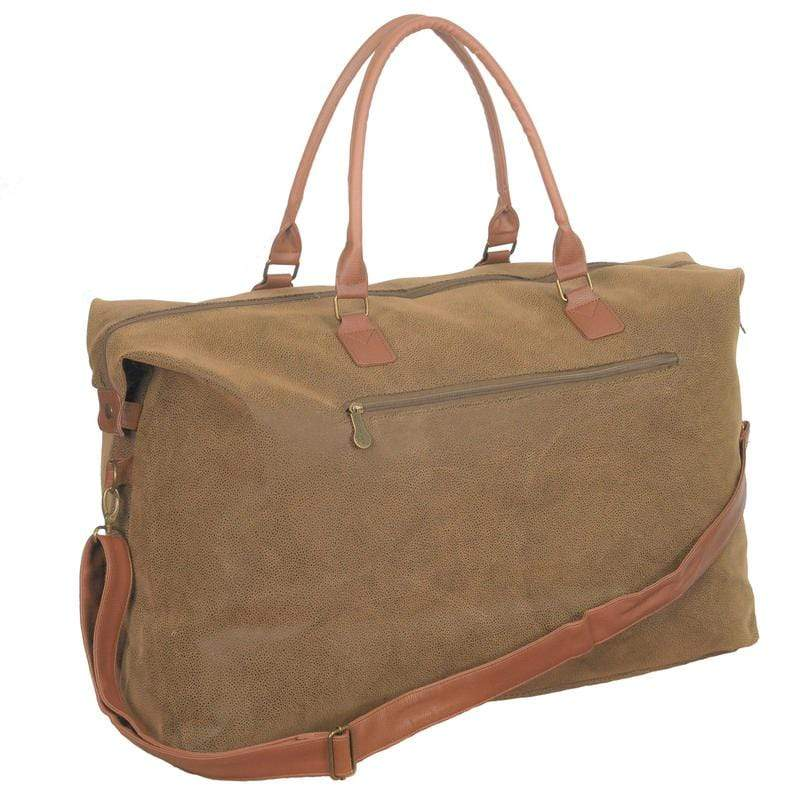 vendor-unknown For the Guys Monogrammed Scotch Grain Duffel