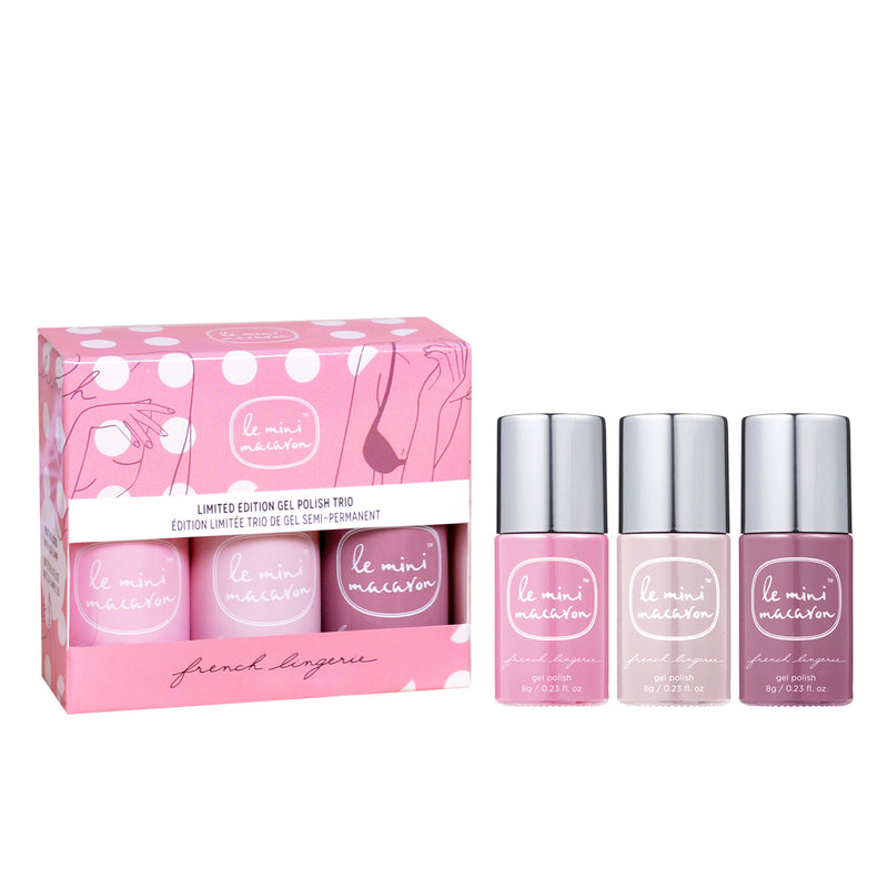 French Lingerie - Limited Edition Gel Neglelak Trio