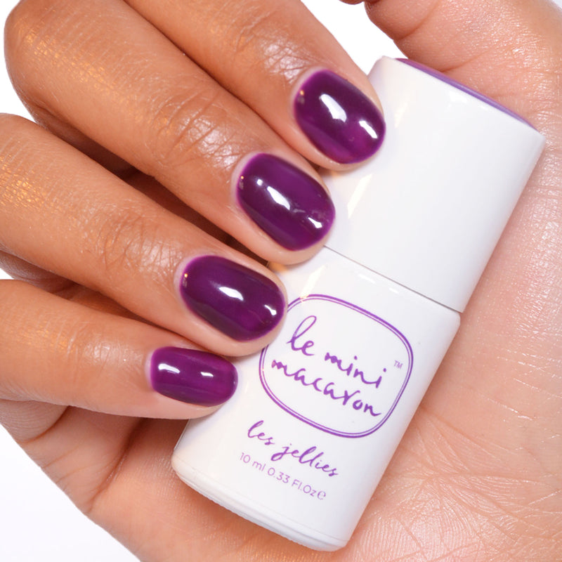 Gel Neglelak Farve, Les Jellies, Grape Jelly (Limited Edition)