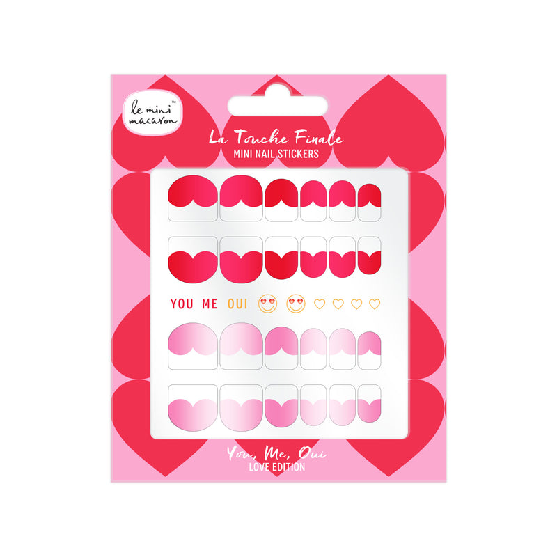 Mini Nail Art, You Me Oui, Love Edition