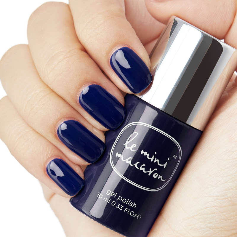 Gel Neglelak Farve, Midnight Blueberry