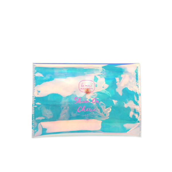 Holographic Pouch, Shine on, Cherie!