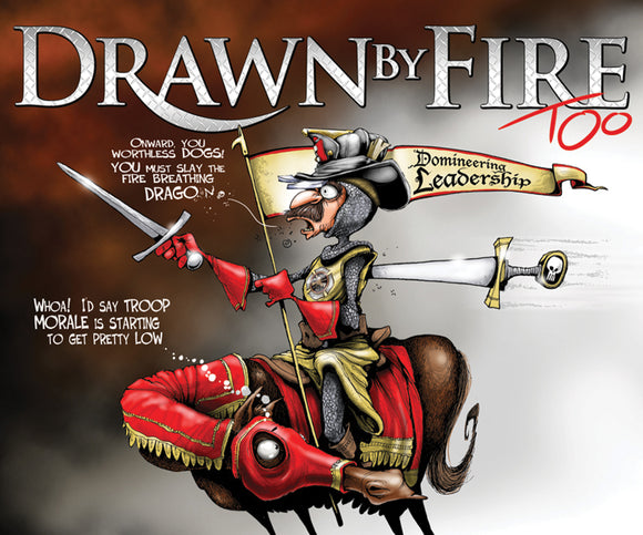 Drawn by Fire, Too (2014) - Signed Book