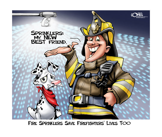 Sprinklers Save Lives, Too