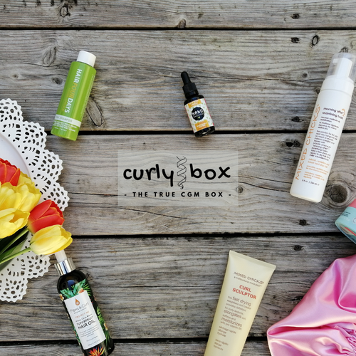 CURLY BOX  for thick hair - monthly subscription
