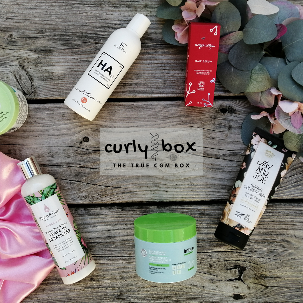 CURLY BOX for fine hair - annual subscription