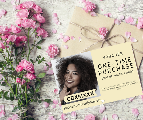 Voucher CURLY BOX One-time purchase