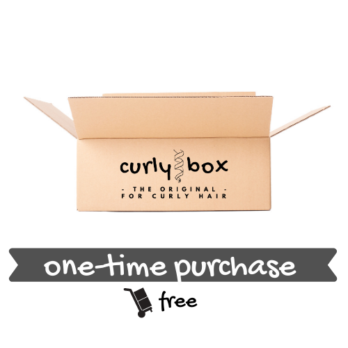 CURLY BOX for fine hair - One-time purchase