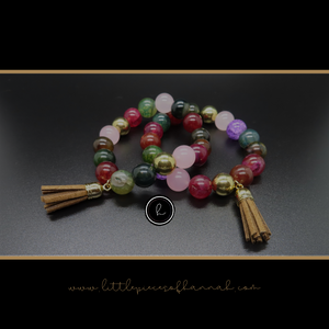 Agate Bracelet - Little Pieces of Hannah - Little Pieces Of Hannah