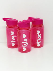 Small Pink Water Bottle